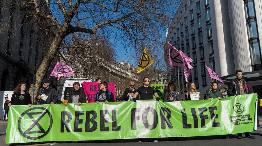 Manifestación de activistas en pro del ambiente toman sitios de Londres | El Imparcial de Oaxaca