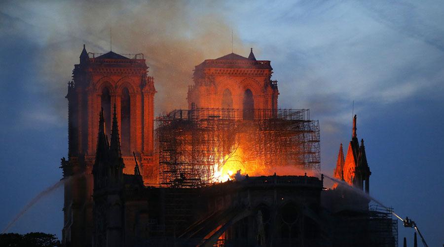 Teorías de la conspiración alrededor del incendio en Notre Dame | El Imparcial de Oaxaca