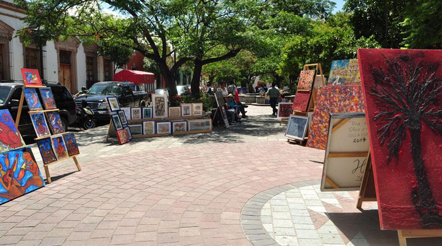 Jardín del arte: una galería y la escuela al aire libre