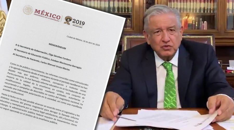 Memorándum de AMLO carece  de validez: Mexicanos Primero | El Imparcial de Oaxaca