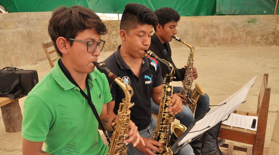 Lo que toca el viento, las bandas de música en Oaxaca