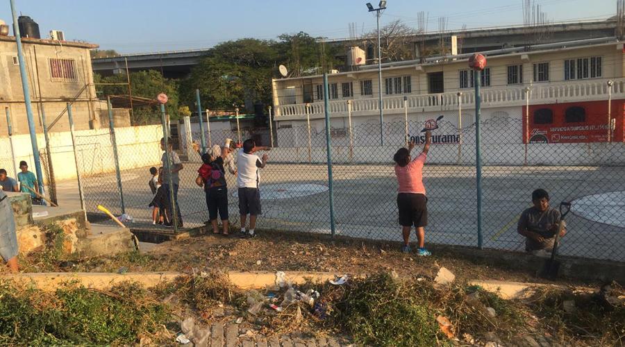 Realizan tequio comunitario en Salina Cruz | El Imparcial de Oaxaca