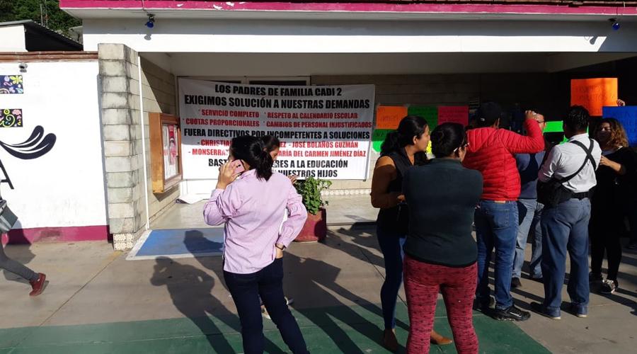 Piden descuentos en el CADI 2 del DIF de Oaxaca | El Imparcial de Oaxaca