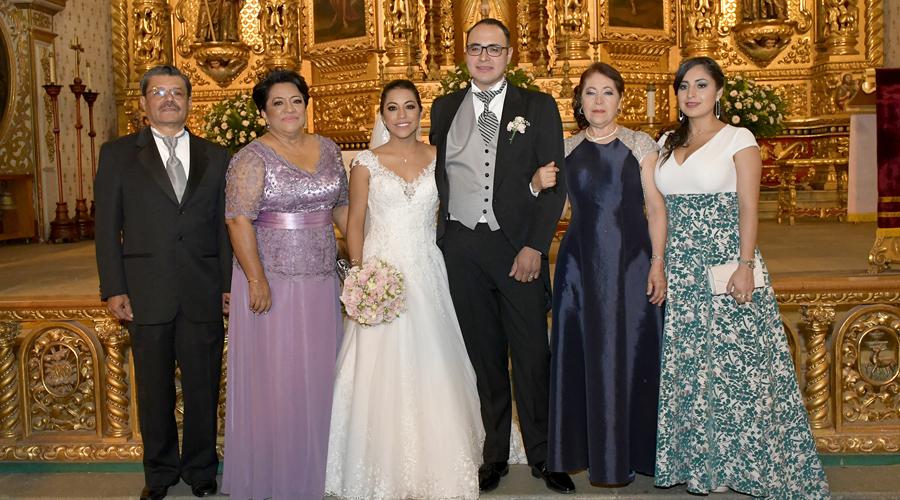 Guadalupe y Neftalí juraron amarse