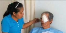 Culmina temporada de cirugía de cataratas en Tuxtepec