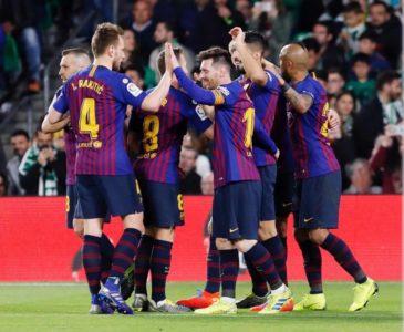 Barcelona no se fía y va por pase en la Champions ante el Manchester United