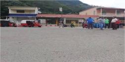 Mototaxistas bloquean la entrada de Santa María Jacatepec