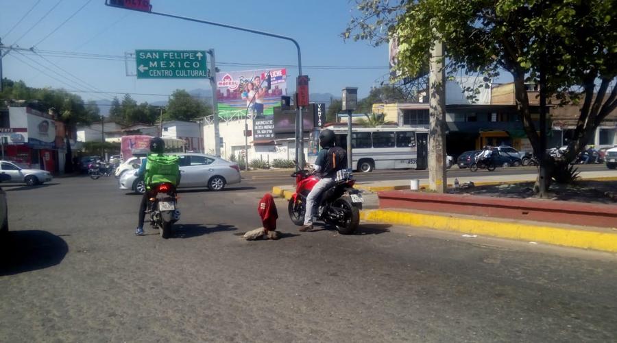 Pésima imagen ofrece Oaxaca a los visitantes
