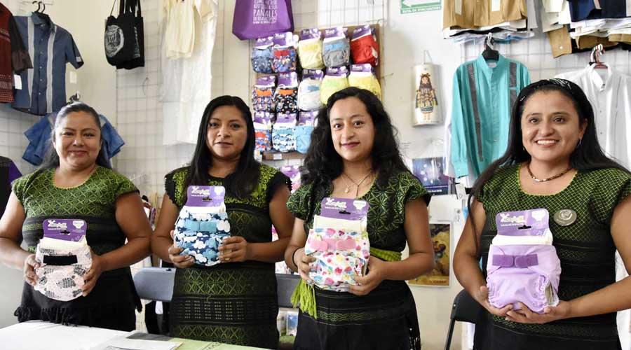Promueven uso de pañal de tela en Oaxaca