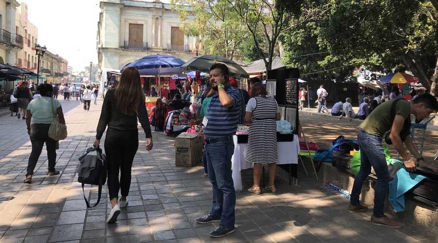 Se burlan ambulantes  de las autoridades  de Oaxaca