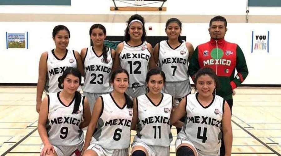 Se lucen basquetbolistas mixtecas en torneo de California