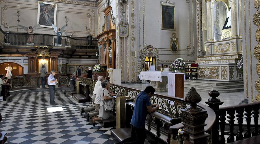 Sin medidas de seguridad las iglesias de Oaxaca