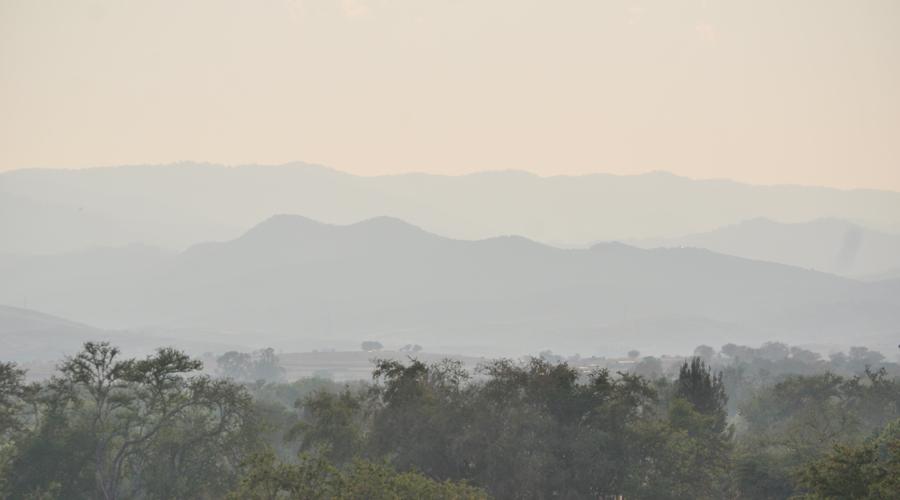 Cubre la calima a los Valles Centrales de Oaxaca