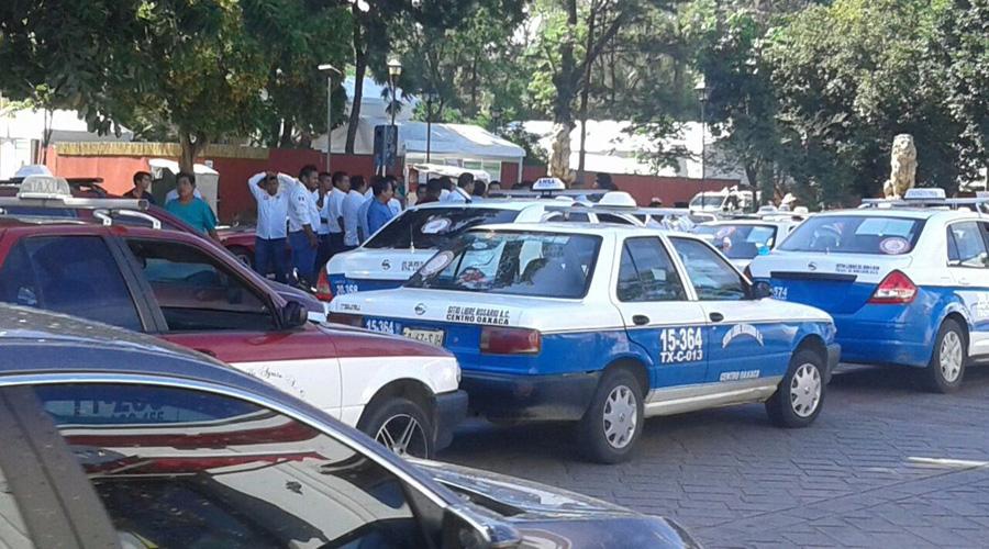 Escasos 70 taxis piratas han sido detenidos por Tránsito de Oaxaca | El Imparcial de Oaxaca