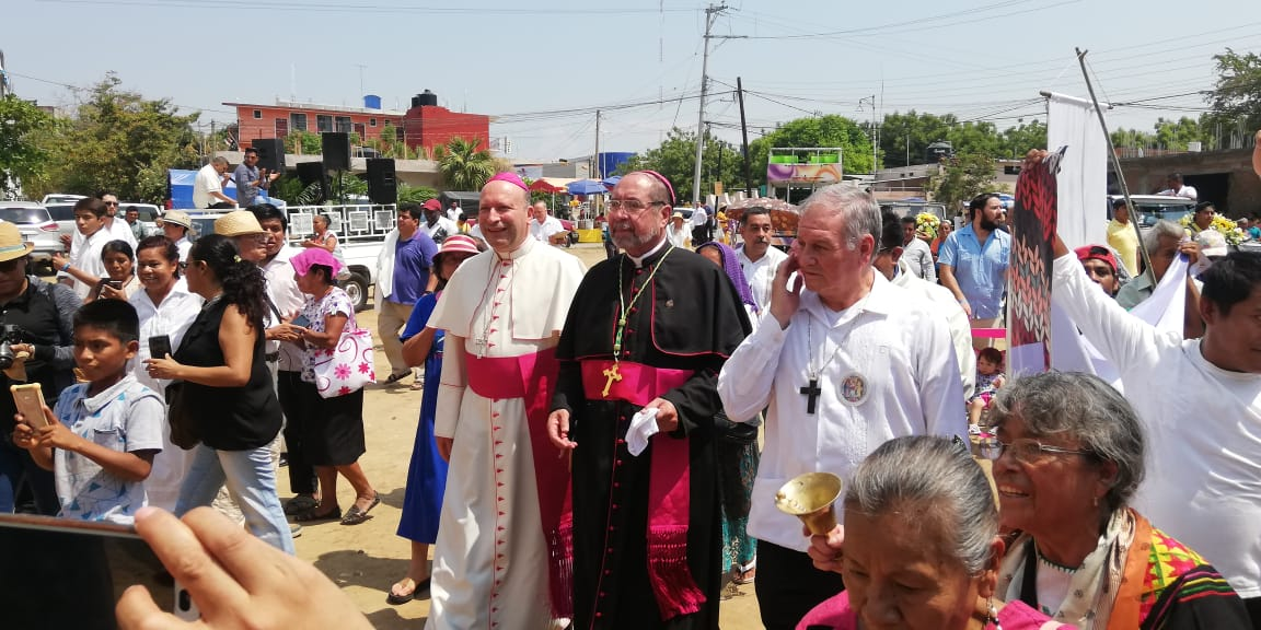 Dan bienvenida en Puerto Escondido a nuevo obispo de la Costa | El Imparcial de Oaxaca