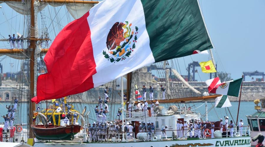 Zarpa el buque Cuauhtémoc, para dar inicio Crucero de Instrucción Europa del Norte 2019