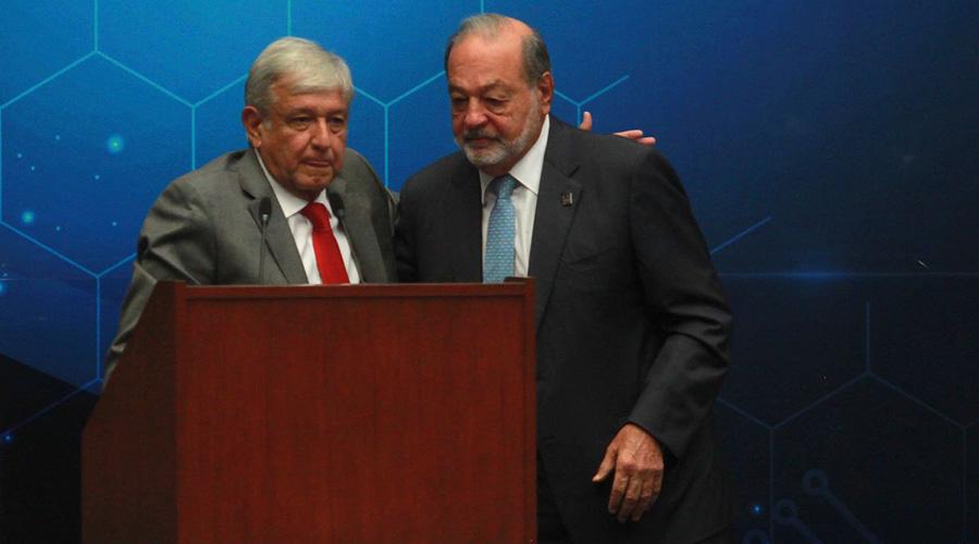 Fractura en relación AMLO-Slim obedece a cancelación del NAICM | El Imparcial de Oaxaca
