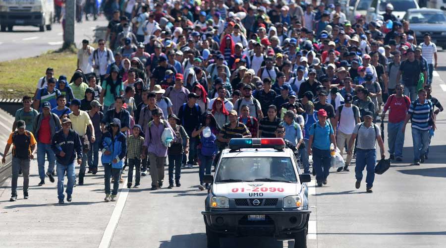 Suman más de cinco mil personas en la caravana migrante | El Imparcial de Oaxaca