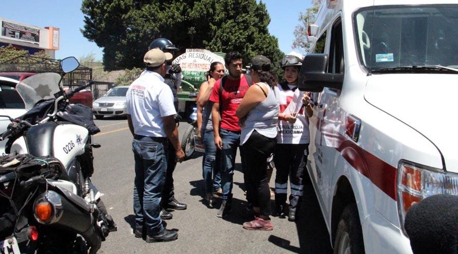Atropella a motociclista en Candiani, trata de escapar presunto culpable   El Imparcial de Oaxaca
