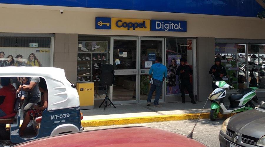 Asaltan el Coppel Canadá de Juchitán | El Imparcial de Oaxaca