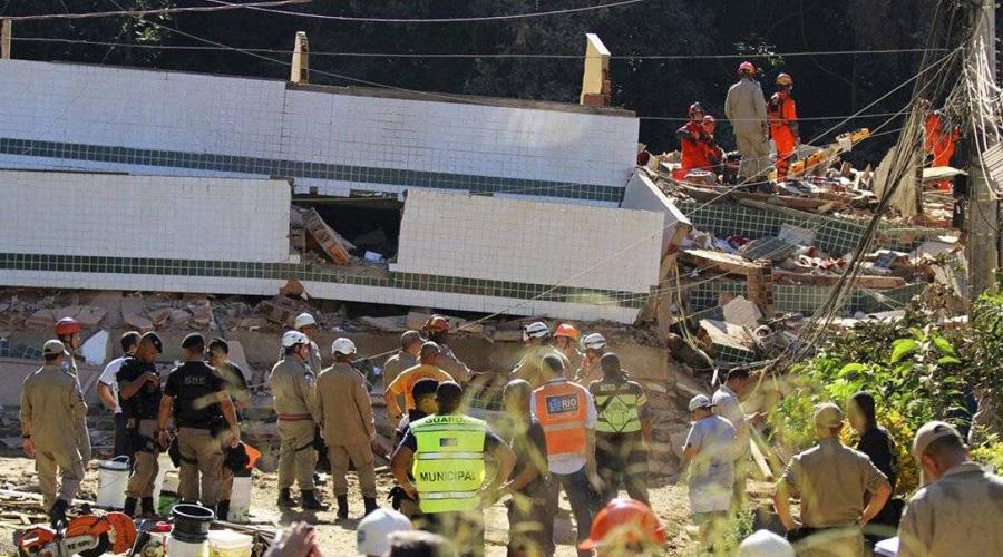 Desplome de edificios ilegales deja 20 muertos en Río de Janeiro | El Imparcial de Oaxaca