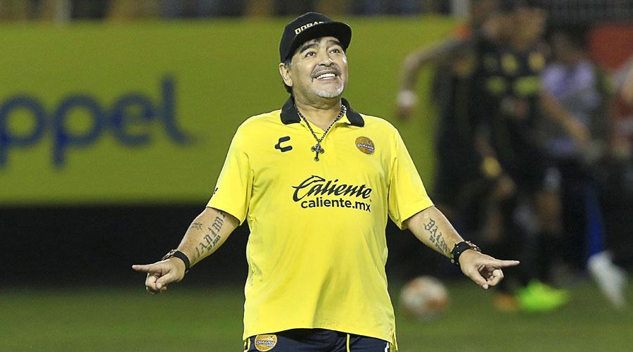 Maradona dedica triunfo de Dorados a Maduro y Venezuela   El Imparcial de Oaxaca