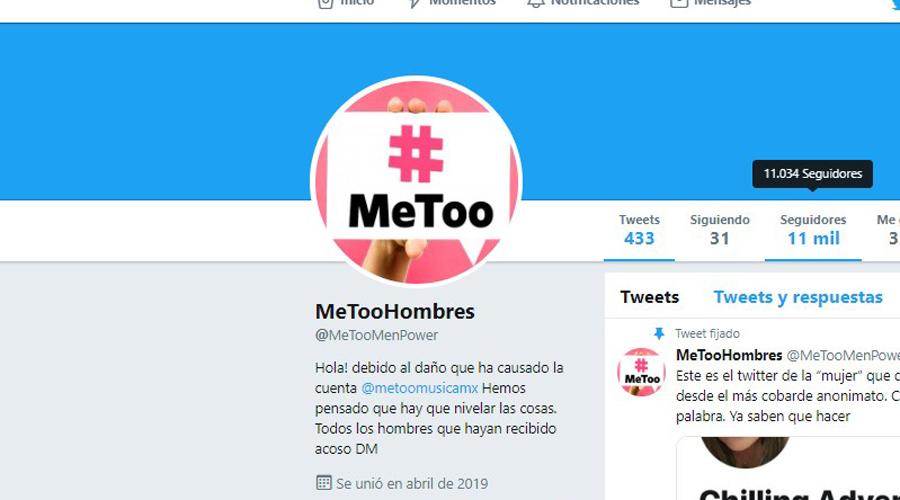 Cuenta de MeeToo de hombres amenaza de muerte a activista | El Imparcial de Oaxaca