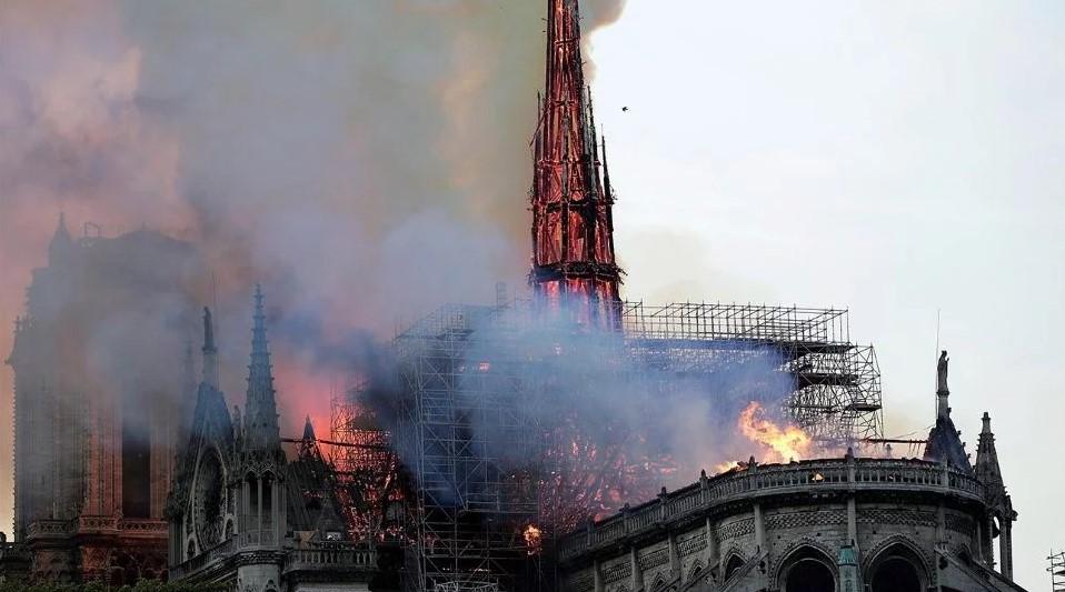 Gobierno de México lamenta incendio en catedral de Notre Dame, París | El Imparcial de Oaxaca