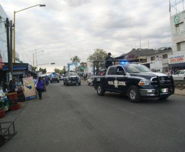 Intensifican vigilancia en zonas de mayor  incidencia delictiva en Oaxaca