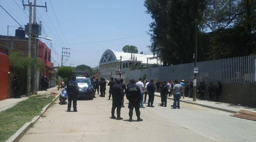 Se registra balacera por disputa de predio del IESO | El Imparcial de Oaxaca