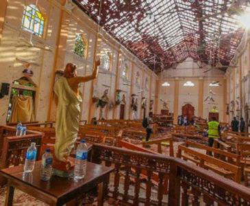 Ola de atentados en Sri Lanka deja más de 200 muertos y 100 heridos