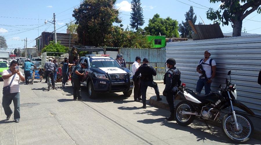 AEI, tras homicida de exurbanero en Santa Lucía del Camino, Oaxaca | El Imparcial de Oaxaca