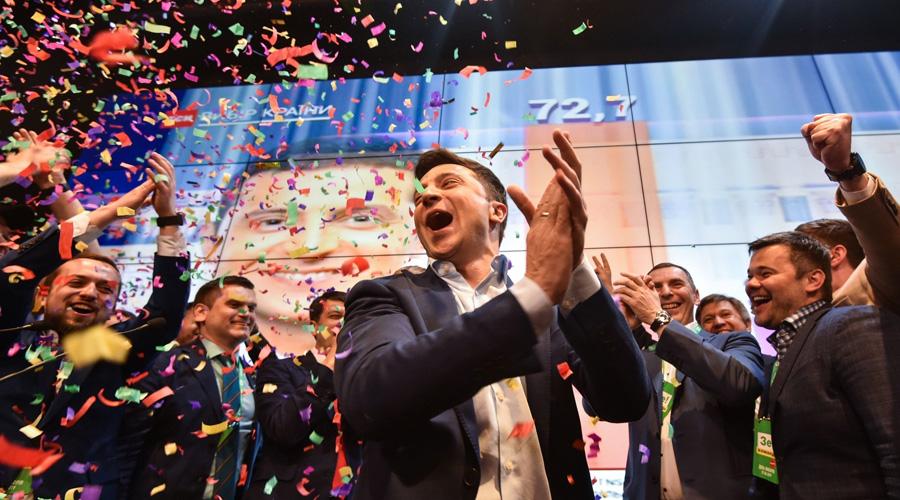 Gana comediante Presidencia de Ucrania en segunda vuelta | El Imparcial de Oaxaca