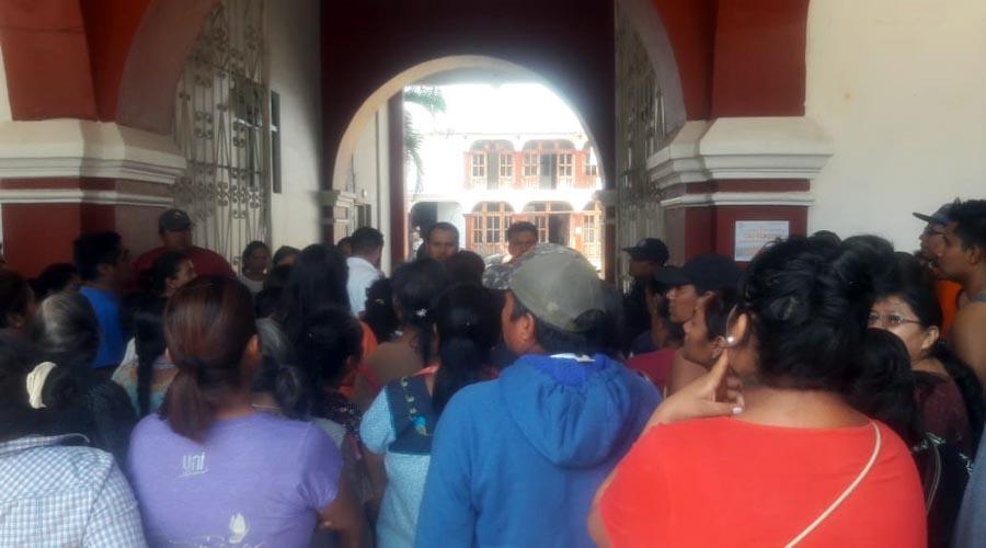 Dan patadas de ahogado, autoridades zaachileñas | El Imparcial de Oaxaca