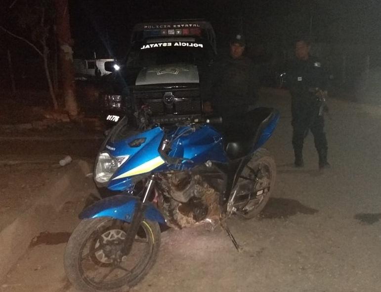 Recuperan moto robada | El Imparcial de Oaxaca