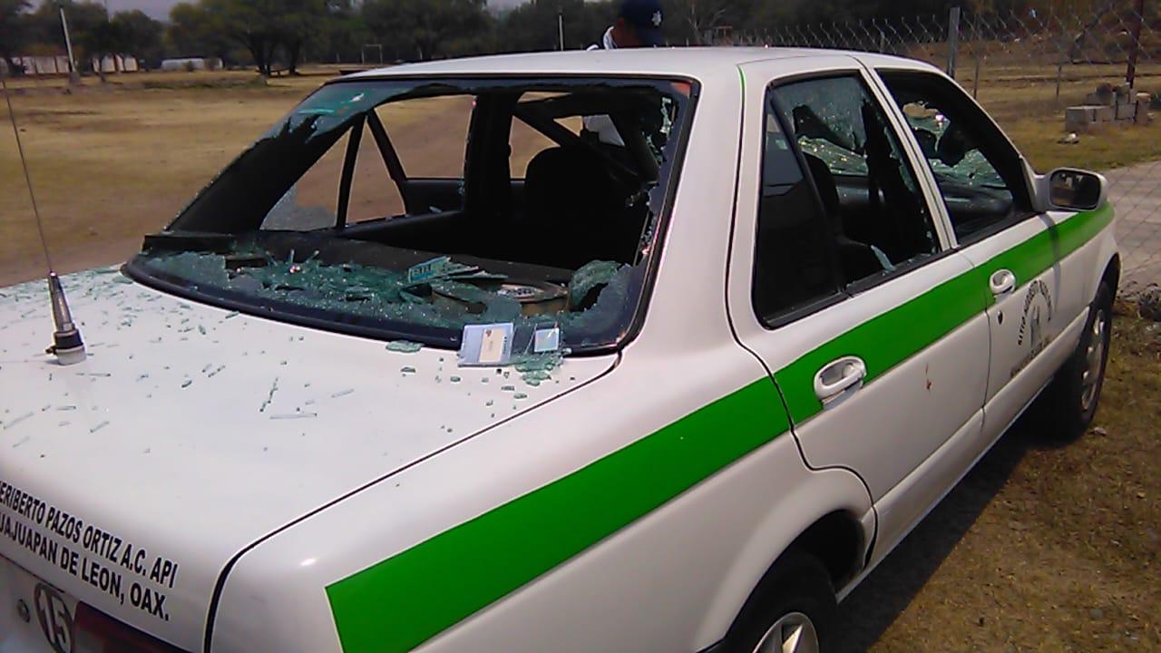 Trifulca campal entre taxistas en Huajuapan   El Imparcial de Oaxaca