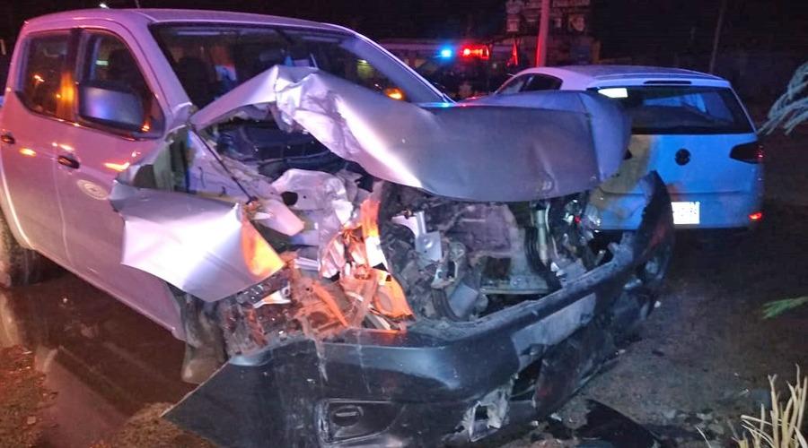 Se lesiona en aparatoso choque en carretera de Juchitán a El Espinal   El Imparcial de Oaxaca