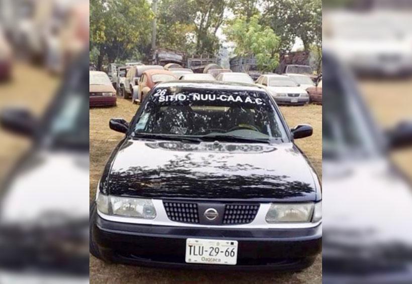En Putla, aseguran taxis con reporte de robo | El Imparcial de Oaxaca