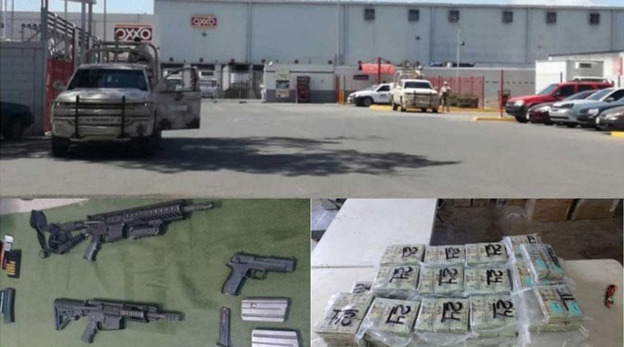Aseguran 1.3 mdd y armas en Oxxo de Ciudad Obregón   El Imparcial de Oaxaca