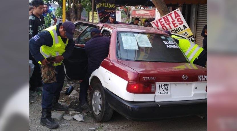 Violento choque en Ánimas Trujano | El Imparcial de Oaxaca