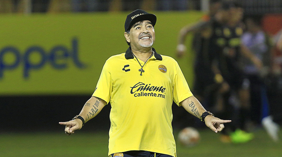 Maradona pone condiciones para quedarse en Dorados | El Imparcial de Oaxaca