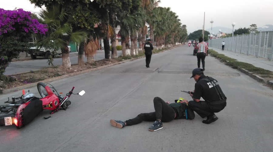 Derrapa joven en carretera rumbo a El Rosario   El Imparcial de Oaxaca