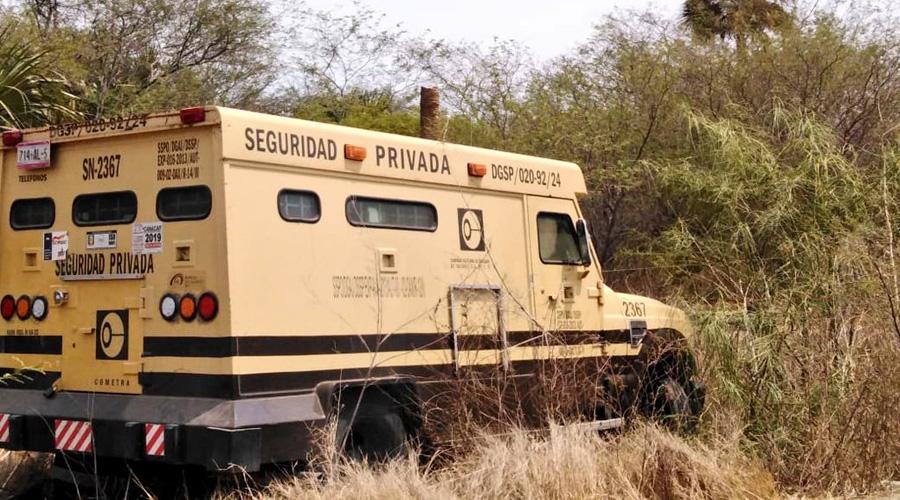 Camioneta de valores sale del camino en Unión Hidalgo | El Imparcial de Oaxaca