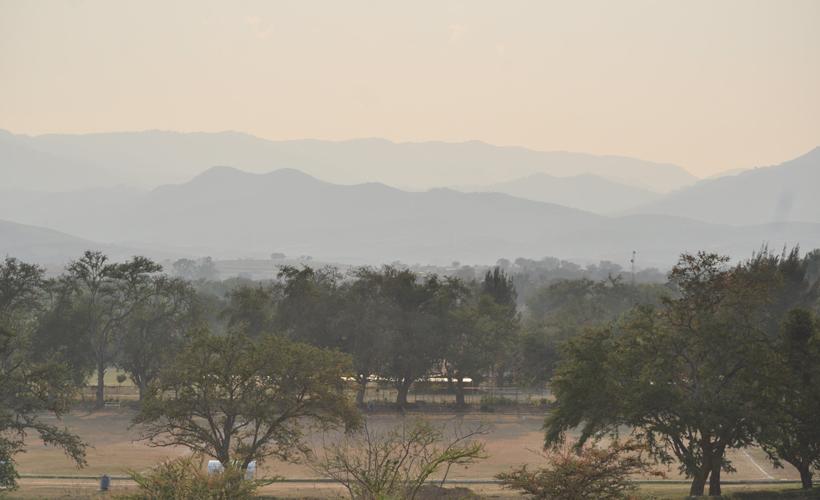 Persiste calima en Valles Centrales de Oaxaca | El Imparcial de Oaxaca
