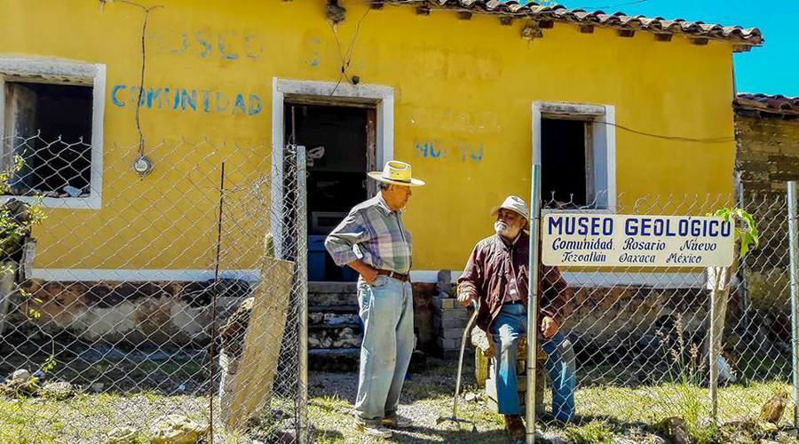 Celebran 10 años el Museo Geológico Comunitario Ing. Jorge Jiménez Rentería