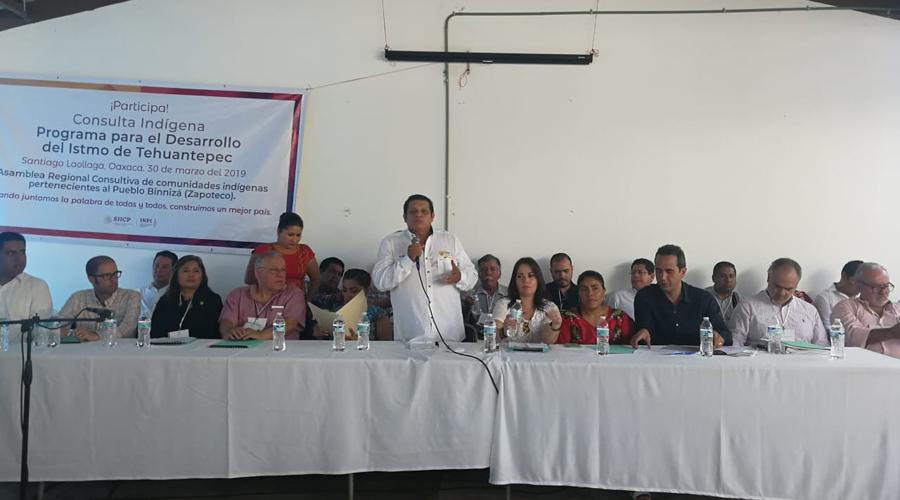 Continúa consulta a pueblos indígenas del programa nacional de desarrollo