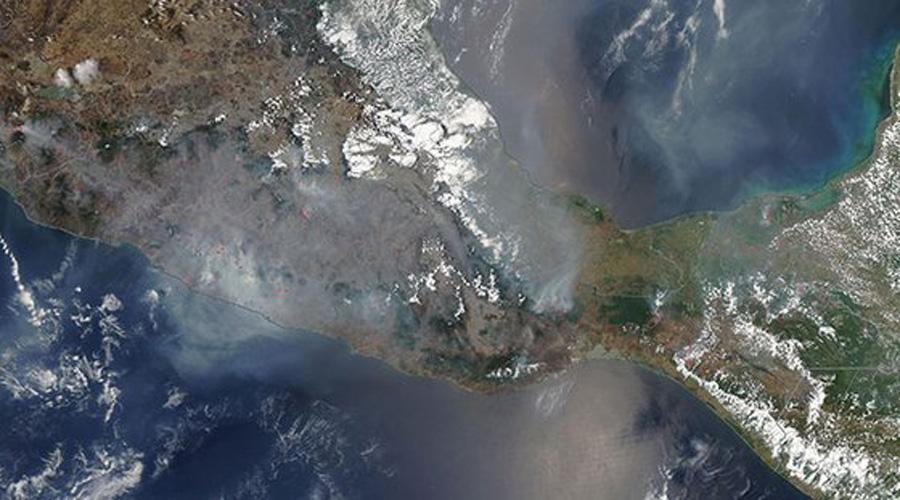 Incendios en Oaxaca son captados por satélites de la NASA | El Imparcial de Oaxaca