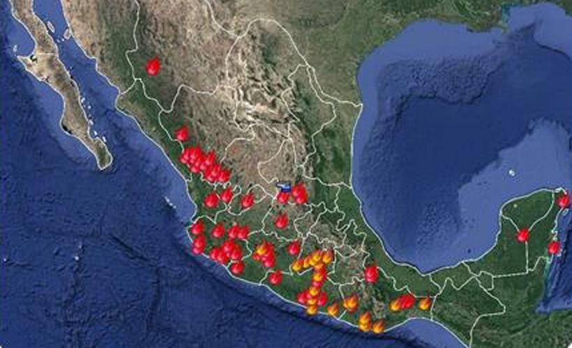 Revertir daños de incendios tomará 10 años; van 5 mil en México   El Imparcial de Oaxaca