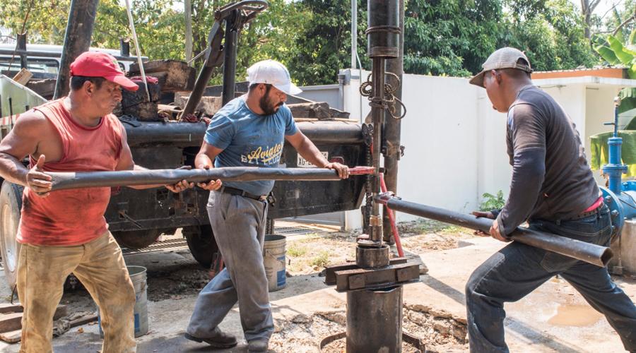 Dan mantenimiento a 22 pozos de agua en Tuxtepec | El Imparcial de Oaxaca