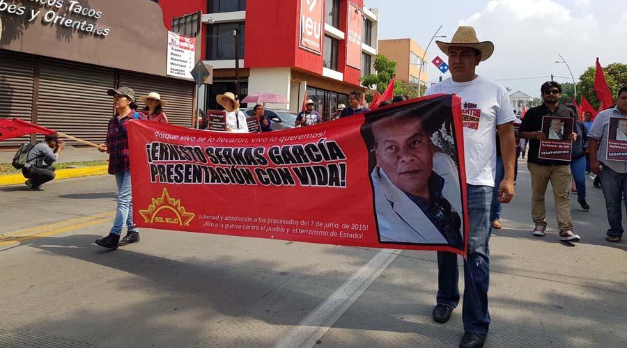 Exigen resultados en caso de la desaparición de Sernas García | El Imparcial de Oaxaca